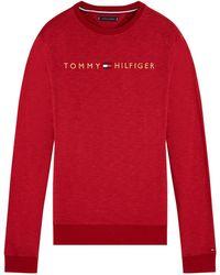 Tommy Hilfiger T-shirt Donkerrood
