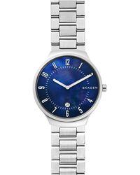 Skagen Grenen Heren Horloge Skw6519 - Metallic