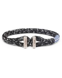Pig & Hen Armband Icy Ik Zwart/grijs