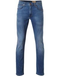 Wrangler Straight Fit Jeans Arizona Comfy Break - Blauw
