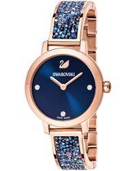 Swarovski Horloge Cosmic Rock 5466209 Blauw