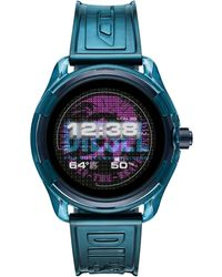 DIESEL Fadelite Heren Display Smartwatch Dzt2020 - Blauw