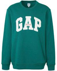 Gap - Sweater Met Tekst Groen - Lyst