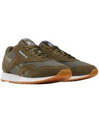 Reebok Nylon Ripple Sneakers Donkergroen/grijs