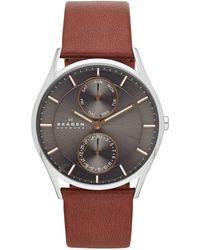 Skagen Holst Heren Horloge Skw6086 - Metallic