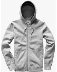 Reigning Champ - Light Weight Full Zip Hoodie - Lyst