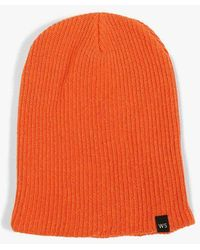 4f2a48b571e Lyst - Carhartt Anglistic Beanie Hat in Blue for Men