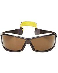 Louis Vuitton Brown Acetate Lv Cup Sport Sunglasses