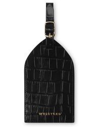 Whistles - Shiny Croc Luggage Tag - Lyst