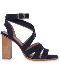 Whistles | Ivor Crossover High Sandal | Lyst