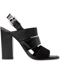 Whistles | Voe Panelled High Sandal | Lyst