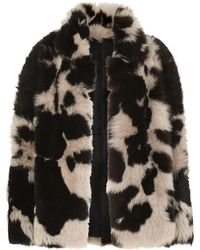 Whistles - Helvin Cow Shearling Jacket - Lyst