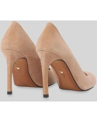 Whistles Cornel Suede Point Pump - Natural
