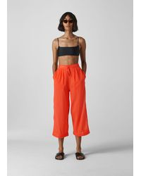 Whistles Beach Voile Trouser - Red