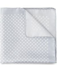 Whistles - Polka Dot Silk Pocket Square - Lyst