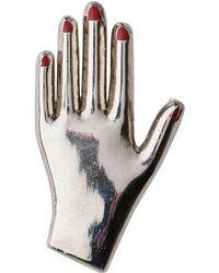 Whistles Godert.me Hand Pin - Metallic