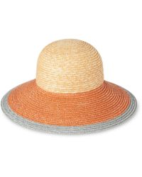Whistles - Colourblock Dome Summer Hat - Lyst
