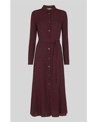 Whistles - Margot Spot Shirt Dress - Lyst