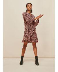 Whistles - Tropical Fruit Print Dress - Lyst