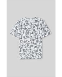 Whistles - Hibiscus Print Tshirt - Lyst