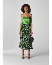 Whistles - Digital Daisy Print Skirt - Lyst