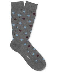 Whistles - Polka Dot Merino Socks - Lyst