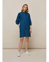 Whistles Alria Denim Dress - Blue