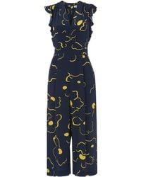 a767a32870e2 Whistles - Lavene Magnolia Silk Jumpsuit - Lyst