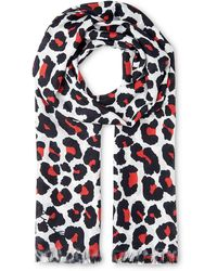 Whistles - Lily And Lionel Leo Silk Scarf - Lyst