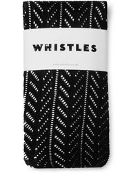 Whistles - Crochet Tights - Lyst