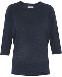 Whistles - Laura Double Trim 3/4 Sleeve - Lyst