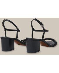Whistles Hana Multi Strap Sandal - Multicolour