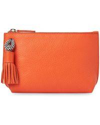 Whistles Rope Wash Bag - Orange