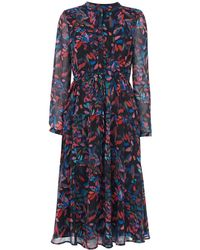 Whistles - Mari Print Shirt Dress - Lyst
