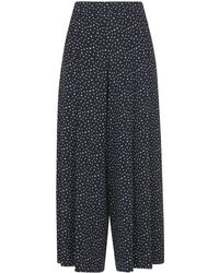 Whistles - Micro Tulip Pleated Trouser - Lyst