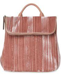 Whistles - Velvet Mini Verity Backpack - Lyst
