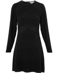 Whistles - Amy Lace Insert Dress - Lyst