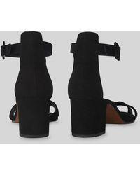Whistles Marquis Block Heel Sandal - Black