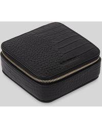 Whistles Travel Jewelry Box - Black
