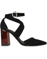 Whistles | Taylor Cross Front Marble Heel | Lyst