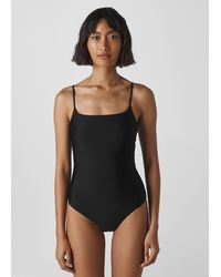 Whistles Strappy Swimsuit - Black