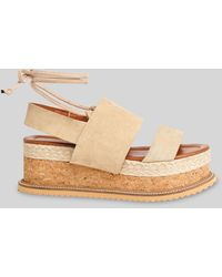 Whistles Rae Flatform Sandal - Multicolour