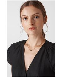 Whistles - Feather Pendant Necklace - Lyst