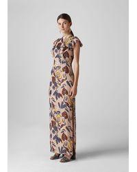 Whistles Bernadette Montrose Dress - Multicolour
