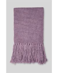 Whistles - Limited Rib Chunky Scarf - Lyst
