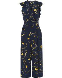 Whistles - Lavene Magnolia Silk Jumpsuit - Lyst