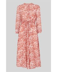 Whistles - Bali Print Shirt Dress - Lyst