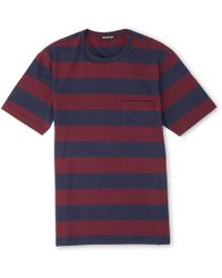 Whistles - Block Striped T-shirt - Lyst