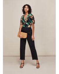 Whistles - Tropical Floral Top - Lyst