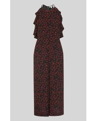 Whistles Sonia Lips Print Jumpsuit - Multicolour